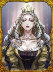 人狼ジャッジメントのカードアイコン〜女王