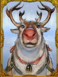 人狼ジャッジメントの赤鼻のトナカイカードアイコン
